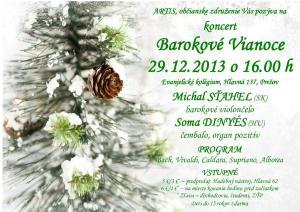 Barokové Vianoce 2013